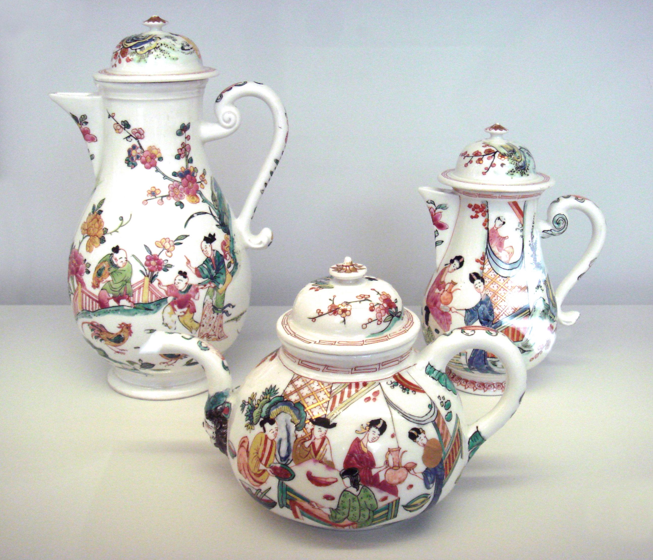 Najwyższej klasy porcelana z Meissen.