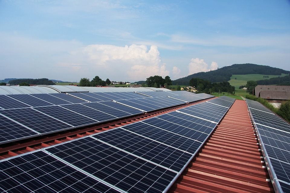 Baterie słoneczne na działce rekreacyjnej