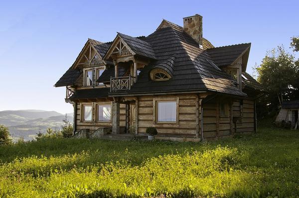 Drewniane domy o wielu obliczach