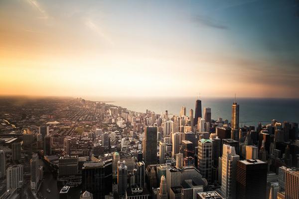 Ergonomiczne nosidło i wycieczka do Chicago