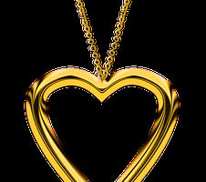 Prezent w postaci złotego łańcuszka typu celebrytka