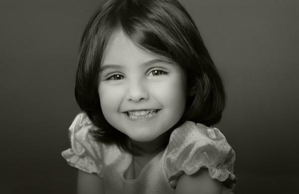 Urok dziecięcych fotografii