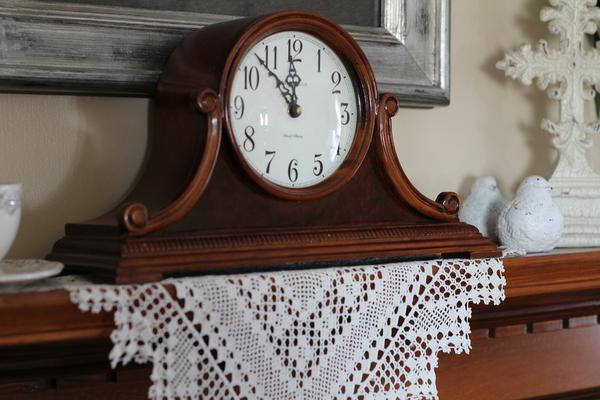 eleganckie zegary kominkowe